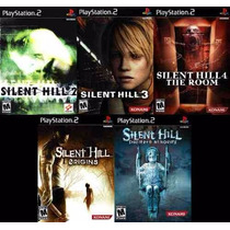 Silent Hill Shattered Memories Play (kit 5 Jogos Ps2 Terror