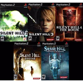Silent Hill Shattered Memories Play (kit 5 Jogos Ps2 Terror