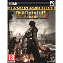 Dead Rising 3 Apocalypse Edition Br (mídia Física) Pc
