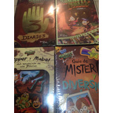 Libro Diario 3 Gravity Falla+cómic 1+dipper+guía De Misterio