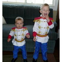Disfraz De Principe. Hermoso. Niños