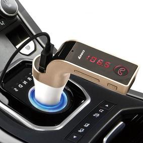 Transmissor Fm Automotivo Sem Fio Bluetooth Usb Pen Drive