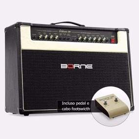 Caixa Cubo Amplificado P/ Guitarra Borne Evidence 200 Preto