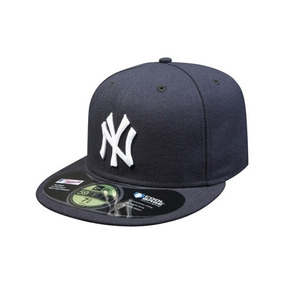 Gorra Yankees 59fifty Azul Letra Blanca Original
