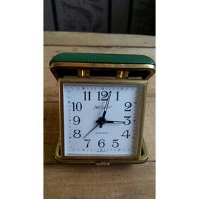 Reloj Jerger Antiguo Despertador Bolsillo Viajero Cuerda