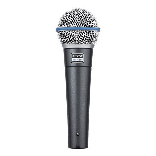 Micrófono Shure Beta 58A dinámico negro