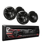 Pioneer Deh-150mp Car Audio Cd Mp3 Reproductor De Radi W15
