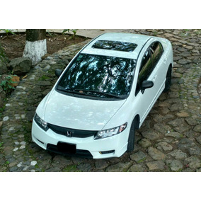 Honda Civic Ex Quemacocos 4p Tm Modelo 2010 1.8l