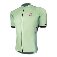 Camisa Ciclismo Barbedo Columbia Verde Claro
