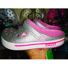 Crocs Band Escarchada