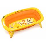 Bañera Bañadera Bebe Plegable Compacta Termometro Nena Nene
