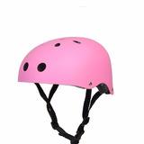 Casco Skate Bici Patines Rosa M