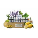 Botiquín Natural De Aceites Esenciales Puros Y Certificados!