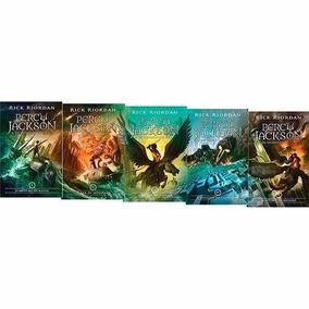 Kit Livros - Coleção Percy Jackson (5 Volumes - Novas Capas)
