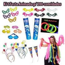 Kit Festa Balada Casamento Formatura 200 Convidados + Brinde