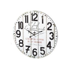 Reloj De Pared Vintage Para Decoración De Madera 60 Cm