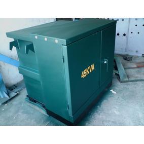 Transformador Trifasico Pedestal 45 Kva 23000 V 220/127 V