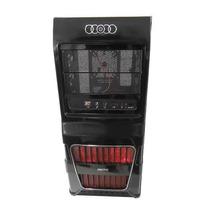 Gabinete Preto Wisegamer Ws8 Cooler Fan 120mm Led Vermelho