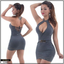 Vestido Sexy Pitbulljeans Ref 22464