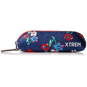 Estuche Xtrem By Samsonite Para Mujer Flor Azul