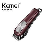 Máquina De Cortar Cabelo Kemei 2604 Turbo Profissional