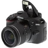 Camara Nikon D3400 24.2 Mp Digital Slr 18-55mm