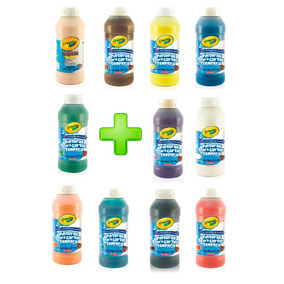 Kit Pintura Tempera 11 Colores Crayola