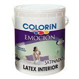 Látex Interior Emocion Blanco Satinado Colorin X 4 Lts Imag