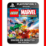 Lego Marvel Super Heroes Ps3 Digital Envios En Minutos
