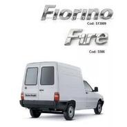 Kit De Emblemas Fiorino Fire - Fiat Ate 2013