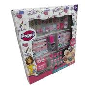 Set De Uñas Decoradas Nenas Poppi Babymovil S22502