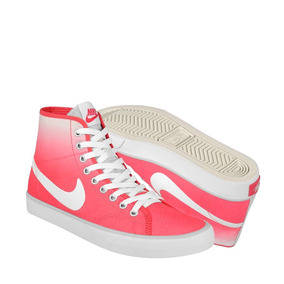 Tenis Urbanos Nike Unisex Textil Rosa Con Blanco 631636003