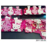 4 Pinza O Clic Escolar Cotillonde Hello Kittyl