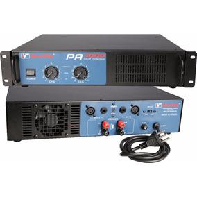 Amplificador Potencia New Vox Pa 4000 2000w Rms Lax Audio