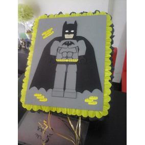 Piñata Grande: Temática Batman Lego