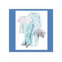 Set De 4 Piezas Pijama Marca Carter´s Niños (importado)