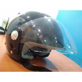 Casco Moto Ls2 Helmets Talla Xl Poco Uso En Caja Color Negro