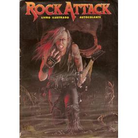 Álbum Digitalizado Rock Attack 1990 - Editora Objetiva