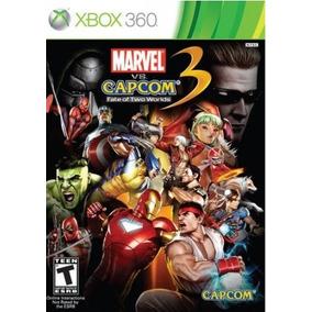 Marvel Vs Capcom 3 Original Testado Xbox 360