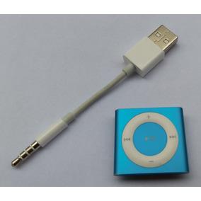 Ipod Shuffle Azul 4 Geração 2gb Cabo - Usado (parcela) 6f4rw