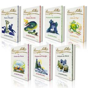 Livro Coleção Harry Potter - J.k. Rowling- 7 Volumes Luxo