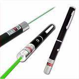 Caneta Laser Pointer Verde Potente 5000mw Até 9km 5 Pontas