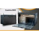 Caixa Cozinha Para Caminhao 80cm/90cm/1,20cm