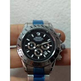 Relógio Masculino Daytona Black Silver