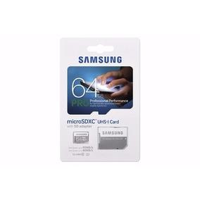 Cartão Micro Sd Sdxc Samsung Pro 64gb Classe 10 90mb/s