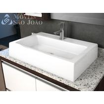 Cuba Pia De Apoio Para Banheiro - Athenas + Válvula Click Up