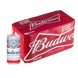 Cerveja Budweiser Lata 269ml Caixa Com 08 Unidades Budweiser