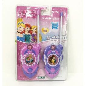 Walkie Talkies Princesas Handy Licencia Original Ditoys Once