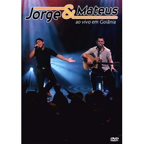 Dvd Jorge E Mateus Ao Vivo Em Goiania - Original E Lacrado