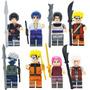 Set Sakura Kakashi Jiraiya Itachi Naruto Compatible Con Lego